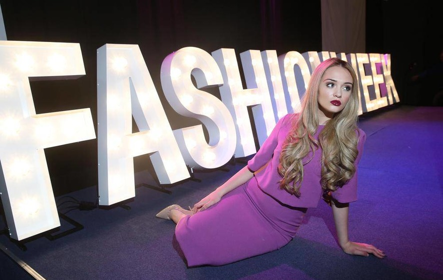 13-year-old joins models at Belfast Fashion Week launch