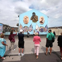 Shankill 'Mona Lisa' mural smiles no more