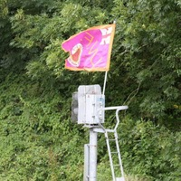 Translink 'still in discussions' over UVF flag on rail signal box