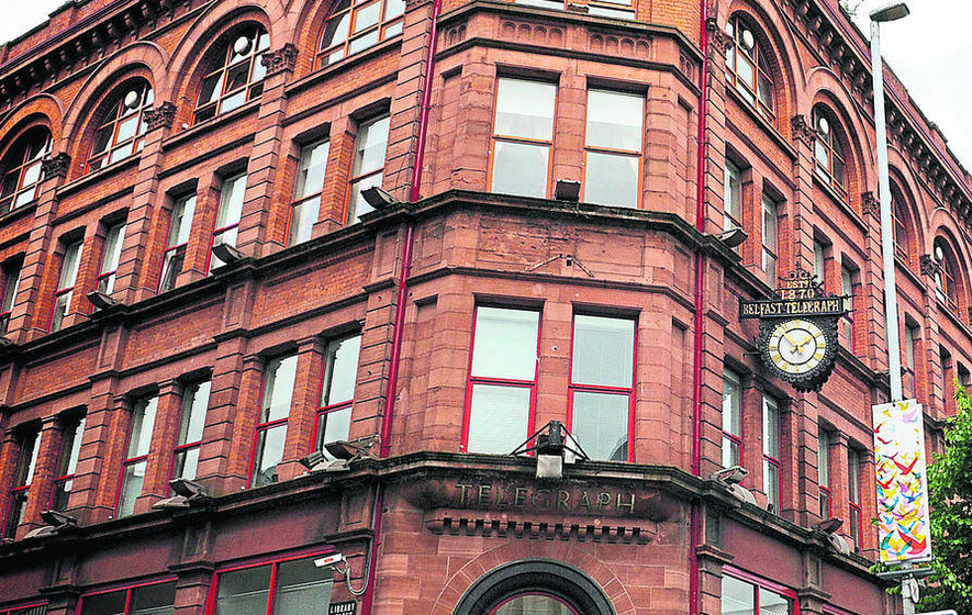 Belfast Telegraph to sell off landmark building and shed 89 printing jobs