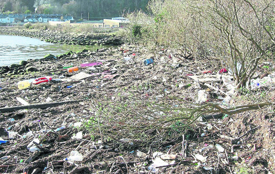 Damning report details rubbish state of north's beaches