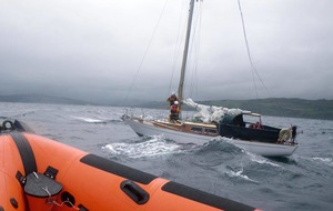 Four rescued from yacht off north Antrim coast