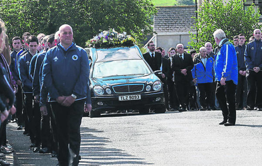 Mourners gather at funerals of two pals killed in A1 crash