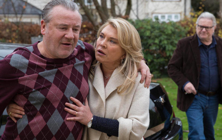 Amanda Redman's back on our screens and seeing red - The