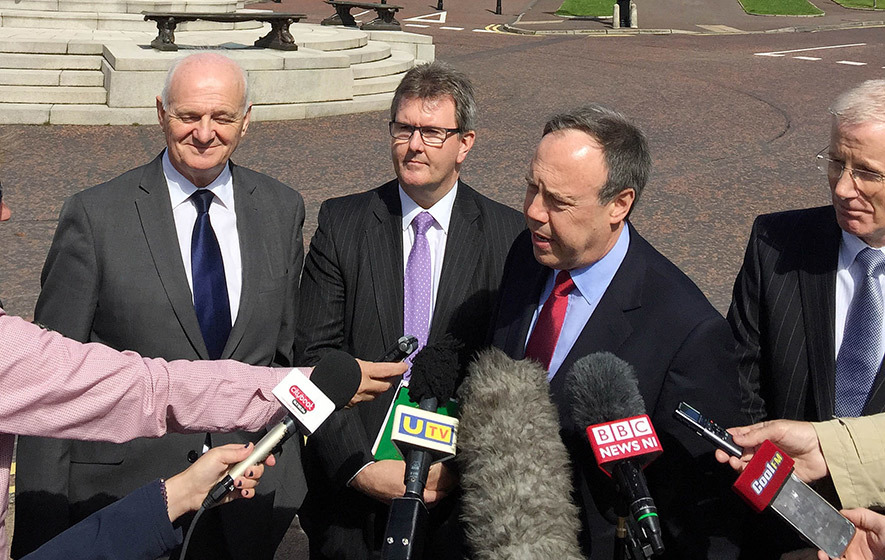 IRA evidence strong enough to force Sinn Fein out, says DUP
