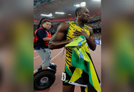 Usain Bolt toppled by Segway