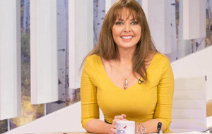 Sleb Safari: Carol Vorderman makes rookie running mistake