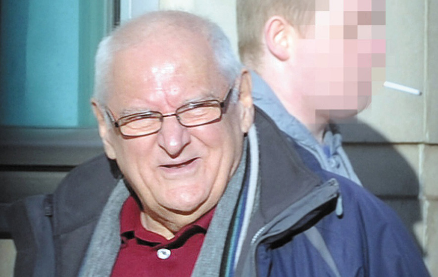 Pensioner jailed on weapons charges despite Robinson plea