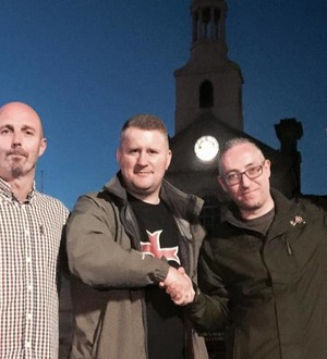 Far right activists investigated after photo outside Islamic prayer centre