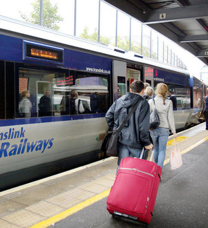 Just one train to take Newry workers to Belfast for 9am start