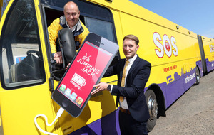 SOS Bus launch new mobile phone safety initiative