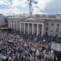 Thousands join anti-water charges demonstration