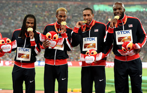 USA end poor Championships with victory in 400 metres