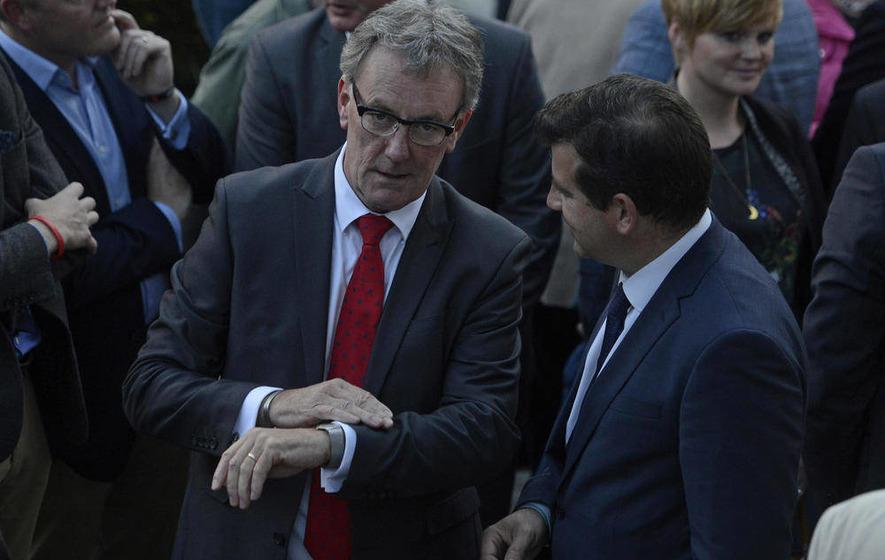 Irish foreign minister slams 'car crash' politics as Stormont crisis deepens