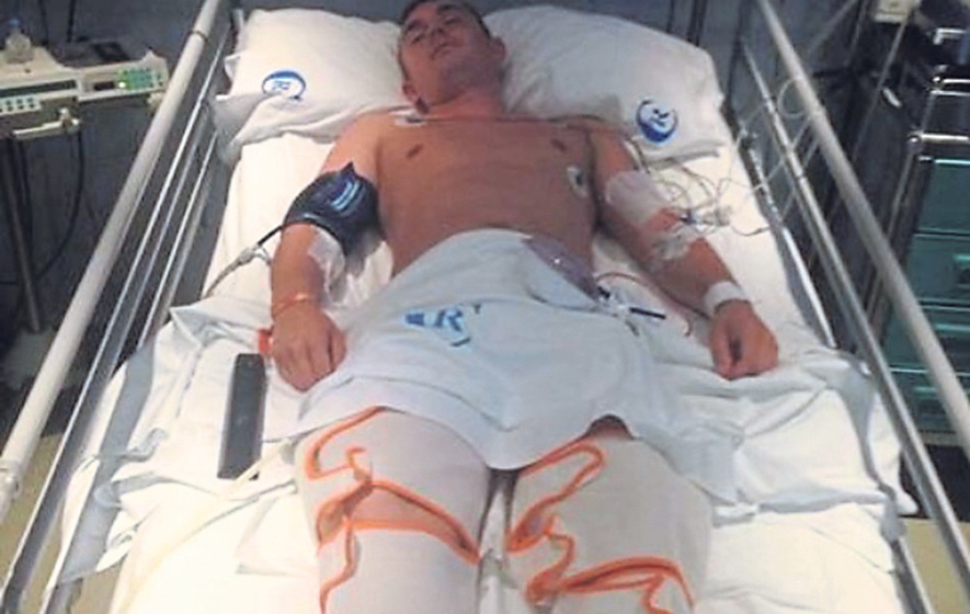West Belfast man breaks his back in Ibiza tragedy