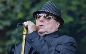 Van Morrison on stage in Cyprus Avenue