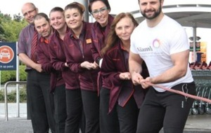 Mental health charity teams up with exercise champ