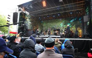 Van Morrison thrills crowds at Cyprus Avenue homecoming