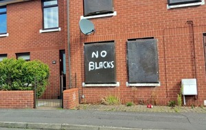 Racist graffiti in south Belfast condemned