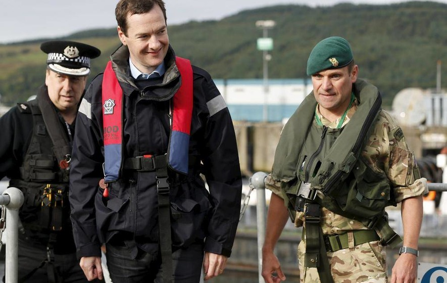 Osborne: Faslane base investment will secure thousands of jobs