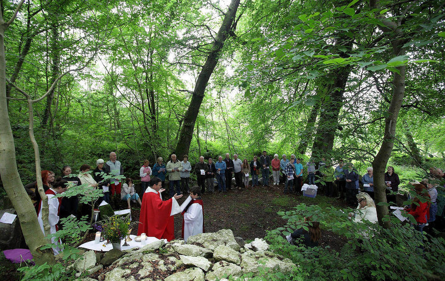 Mass rock tradition serves as a powerful reminder