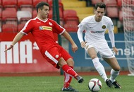 McDaid's brace the Dun' thing for Cliftonville