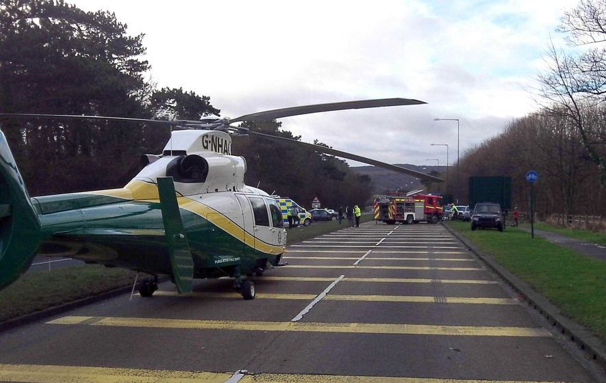 Air ambulance will happen, health minister confirms