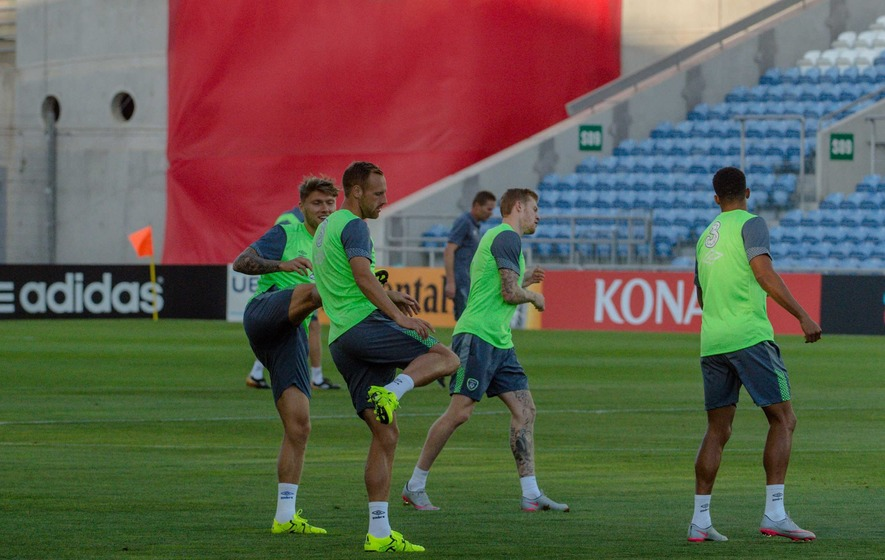 O'Neill talks up Gibraltar challenge as Irish play catch up