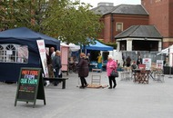 Belfast's newest market loses more than half of stalls