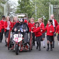 Principal to race soapbox to boost shared education