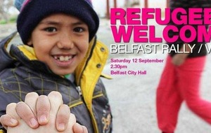 Northern Ireland mobilises to offer refugees sanctuary