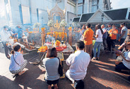 Restored Thai shrine unveiled