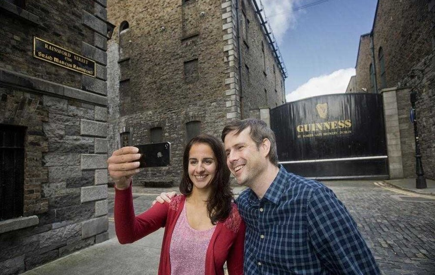 Guinness heads pack of European tourist attractions