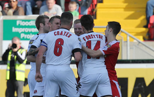 Ward's maiden strike keeps Linfield out in front
