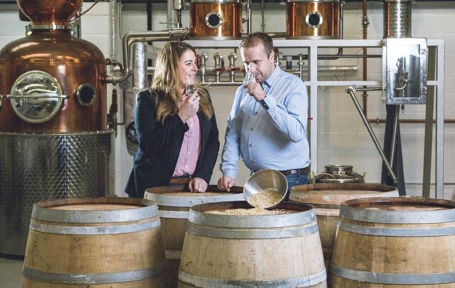 Craft gin producers begin production on whiskey