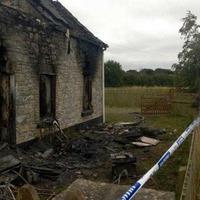 Man beaten, stabbed before house set on fire