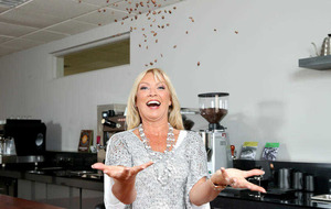 Coffee and glamour for the Northern Ireland Hospice
