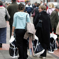 Rate of decline in shoppers slows