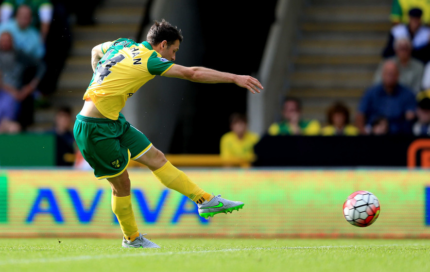 Hoolahan impresses in Norwich win over Bournemouth