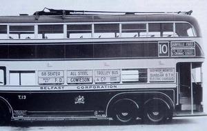 Trolleybus era recaptured in Belfast book
