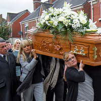 Funeral held for Disappeared victim Kevin McKee