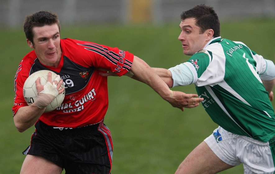 Harps hold off a late Rostrevor rally