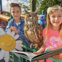 Reading a book or `twoo' for cancer charity