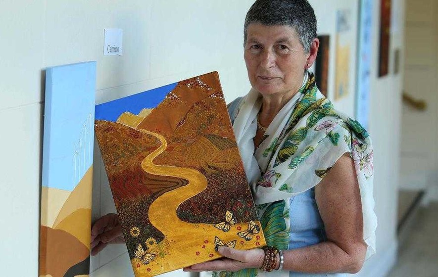 Artist Pauline draws inspiration from Spain to Australia