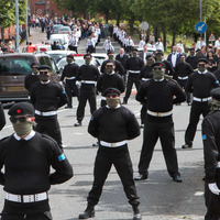 Two more arrested over Peggy O'Hara funeral display