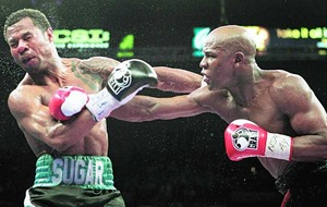 Mayweather: a giant of the ring too quick to lay a glove on