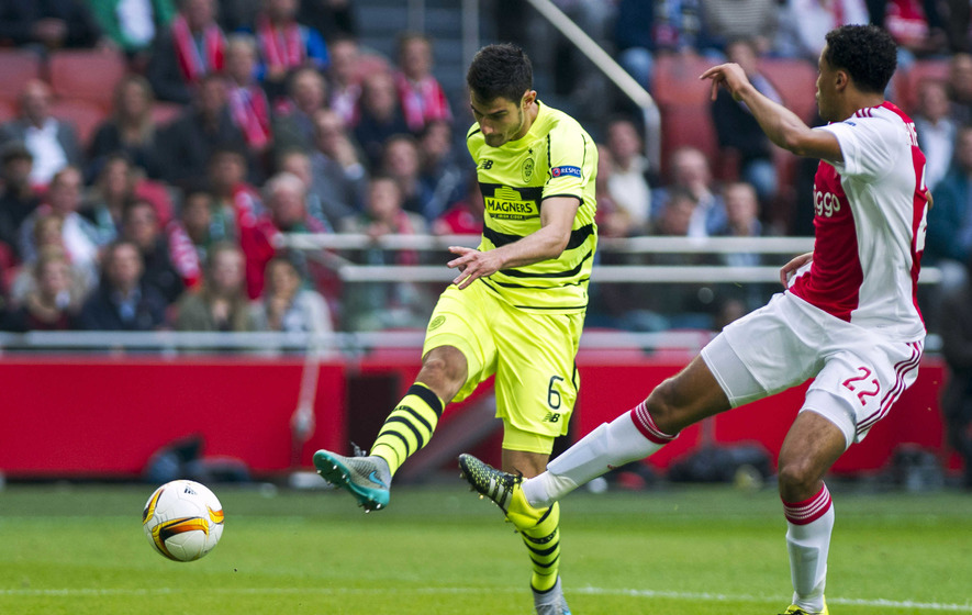 Celtic would have beaten Ajax but for red card - Deila