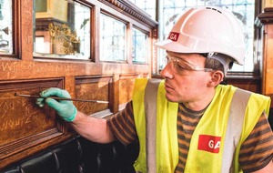 The Crown Bar gets a make over but it's business as usual
