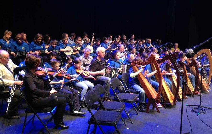 Armagh Pipers' Club classes off to a rousing start