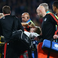 Van Gaal: Long road ahead for Shaw after horror leg-break